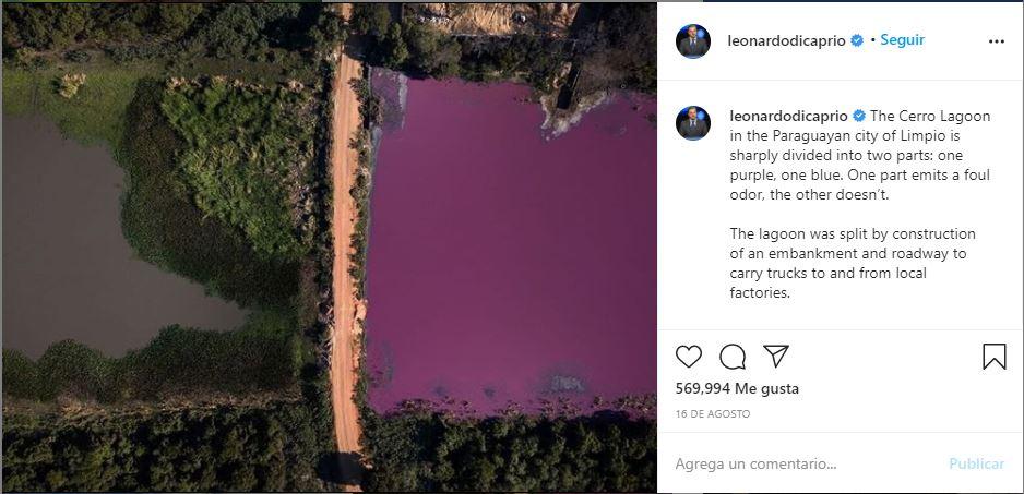 La historia de la foto de Jorge Saenz que ayudó a salvar una laguna- Revista Contrastes