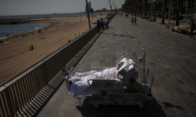 Pulitzer 2021 de fotografía para el trabajo de mayores durante la pandemia de Emilio Morenatti